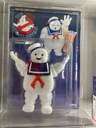 1986 Kenner Ghostbusters Stay Puft Marshmallow Man Afa Graded 80+ White Text
