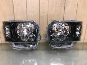 Series 200 Hiace4 Or Later Genuine Led Headlights Inner Black Processing Left