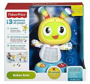 Fisher Price Robot Interactive Baby Toy Adaptable Growth Boy Girl
