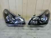 V36 Skyline Afs Yes Inner Black Paint Genuinely Processed Headlights Left And