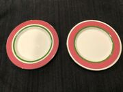 Lenox Kate Spade Library Lane Pink Bread And Butter Plates 24 Two Sets Of 12andnbsp