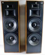 Klipsch Klf 30 Home Speakers-pair Awesome Andgreat Condition Top Of Line Pair...