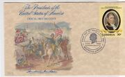 Liberia 1982 A. Jackson President Of The United States Fdc Stamp Cover Ref 37534