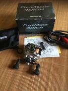 Shimano Force Master 401dh Left Handle Electric Reels