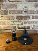 Vinturi Deluxe Red Wine Aerator Set With Tower Stand And Holder