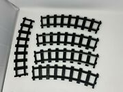 Lionel Polar Express G Scale Curved Track Lot Of 5 Plastic Battery Train Gauge