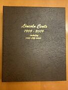 Lincoln Cents 1909-2015 Including Proof Only Issues With Dansco Album 268 Coins