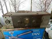 Atwater Kent Radio Ak-60 For Parts Not Working Read