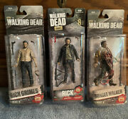 Selaed 2015 Mcfarlane Toys The Walking Dead Tv 5 Series 6 And 8 Rick Grimes  A4
