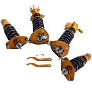 Damper Adj. Suspension Coilovers For Subaru Brz 12-20 Frs Gt86 W/ Camber Plates