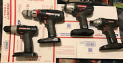 """Craftsman 19.2v 1/2"""" Hammer Drill 1/2 Impact Wrench. Impact Driver And Drill"""