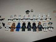 Lego Minifigures Lot Star Wars Storm Troopers Clone Troopers Imperial Troopers