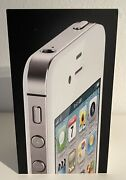 Apple Iphone 4 - 8gb - White Includes Box And Charger