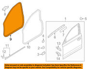 Audi Oem 12-18 A6 Quattro Front Door-weatherstrip Seal On Body 4g0831721a