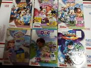 Disney Junior Mickey Mouse Clubhouse Doc Mcstuffins Sofia The First 6 Dvd Lot