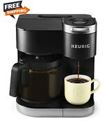 12-cup Carafe Drip Coffee Brewer, Compatible With K-cup Pods And Ground Coffee
