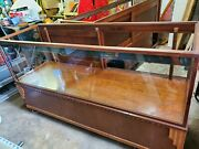Antique 1920s Art Deco Wood Lighted Store Display Cases Cabinets Baltimore