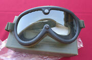 Goggles Sun Wind And Dust Military Goggles Nos - New In Box