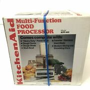 New From 1980's Vintage Kitchen Aid Multi-function Food Processor Model Kfp-400