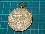 Rare 1950 Ministry Of Finance Large Exam Commemorative Medal Military Antique