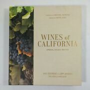 Wines Of California, Special Deluxe Edition By Jenssen, Jeff Hardcover