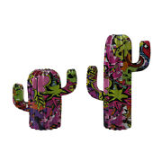 Resin Funny Cactus Figure Entrance Wine Cabinet Office Ornaments Crafts