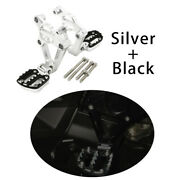 New Silver Motorcycles Footrest Foot Pegs For For Honda Xadv750 Accessories