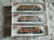 Atlas N Scale Locomotive 48314 And 48315 And 48316