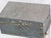 Chest Box Antique Middle East Silver Chest Box Middle East 18th Century