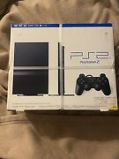 Sony Playstation 2 Sealed In Box With Straps On Box - New