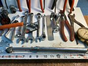 Vintage Lot 26 Mechanic's Hand Tools S-k Blue-point Knipex Craftsman See Photo