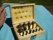 2000 Mlcs 15 Piece Router Bit Set With Carbide-tipped 1/4 Inch Shanks And Wood Box