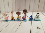 Doc Mcstuffins Figures Lot Of 6 Cake Toppers
