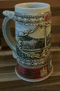 Coors Beer Stein Hand Crafted Adolph Coors Brewery 1988 Limited Edition Rare