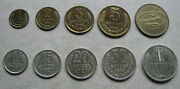 Ussr Set Coins Of The State Bank 1969 Russia 1917-1991 Unc