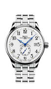 Authorized Dealer Ball Nm3888d-s1cj-wh Trainmaster Standard Time 40m Watch