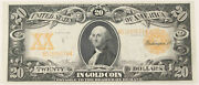1906 20 Dollar Gold Certificate Large Size Currency Bank Note Fr-1181 Choice Xf