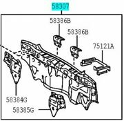 Toyota Genuine 58307-52410 Body Lower Back Panel Sub-assy Vitz Ncp91 Scp90 Rs