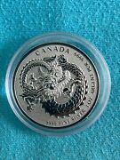 Lucky Dragon - 2020 1oz Silver Coin In Capsule - Canada Rcm Proof-like