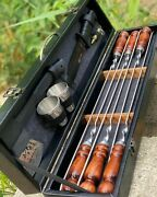 Exclusive Bbq Tool Kit - 13 Piece. Quality 100. Lux Vip Gift