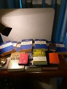 Lot Of 15 Bibles Alot Of. Different Types