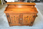 Vtg. Magnavox Dry Sink Console Stereo Am Fm Radio Record Player 8 Track Player