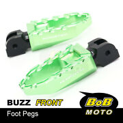Cnc Front Rider Wide Footpegs Laser Logo For Ducati Monster 821 14-20 19 18 17