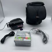 Panasonic Vdr-d230 Dvd Palmcordervideo Camcorder Tested No Battery Or Power Cord