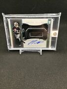 2020 Henry Ruggs National Treasures 4/4 Rookie Hats Off Auto Amazing Patch