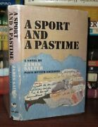 Salter James A Sport And A Pastime 1st Edition 1st Printing