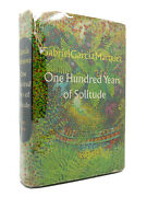 Gabriel Garcia Marquez One Hundred Years Of Solitude 1st Edition 1st Printing