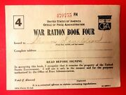 World War Two Ii Rations Book Coupons Oss Usa Government 1940s