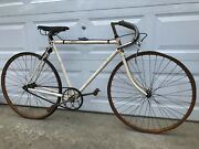 Prewar 1930and039s Circa Drysdale Ace Menand039s Track Bike Repaint With No Badging
