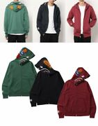 A Bathing Ape Menand039s Full Zip Hoodie Double Side Shark Fast Shipping From Japan
